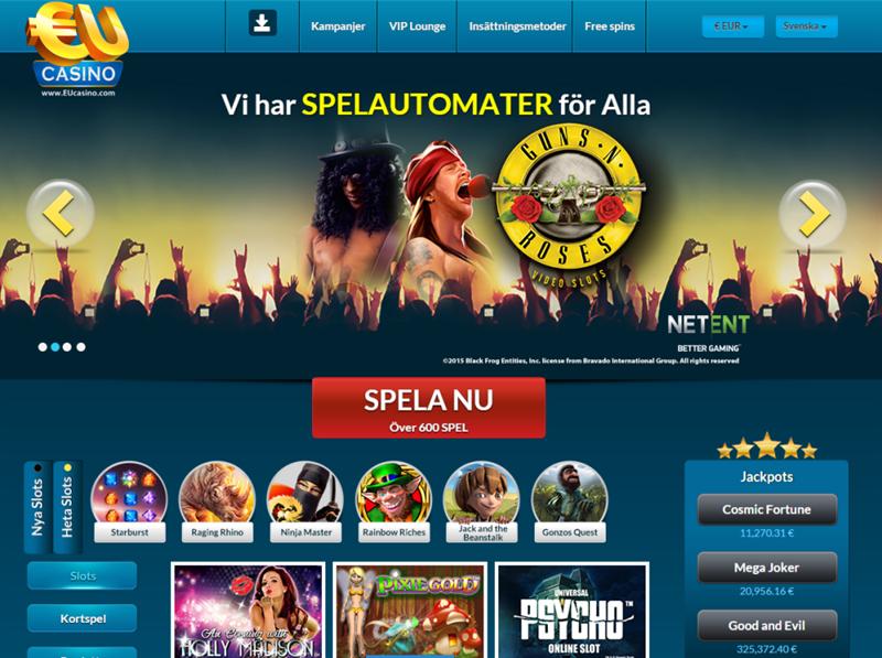 Mycket populärt Svenskt automaten