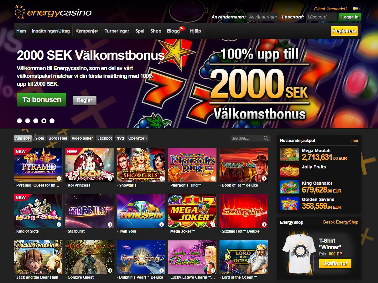 Nya kontofria casinon bäst free