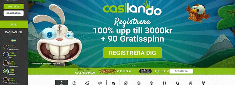 One click casino casumo