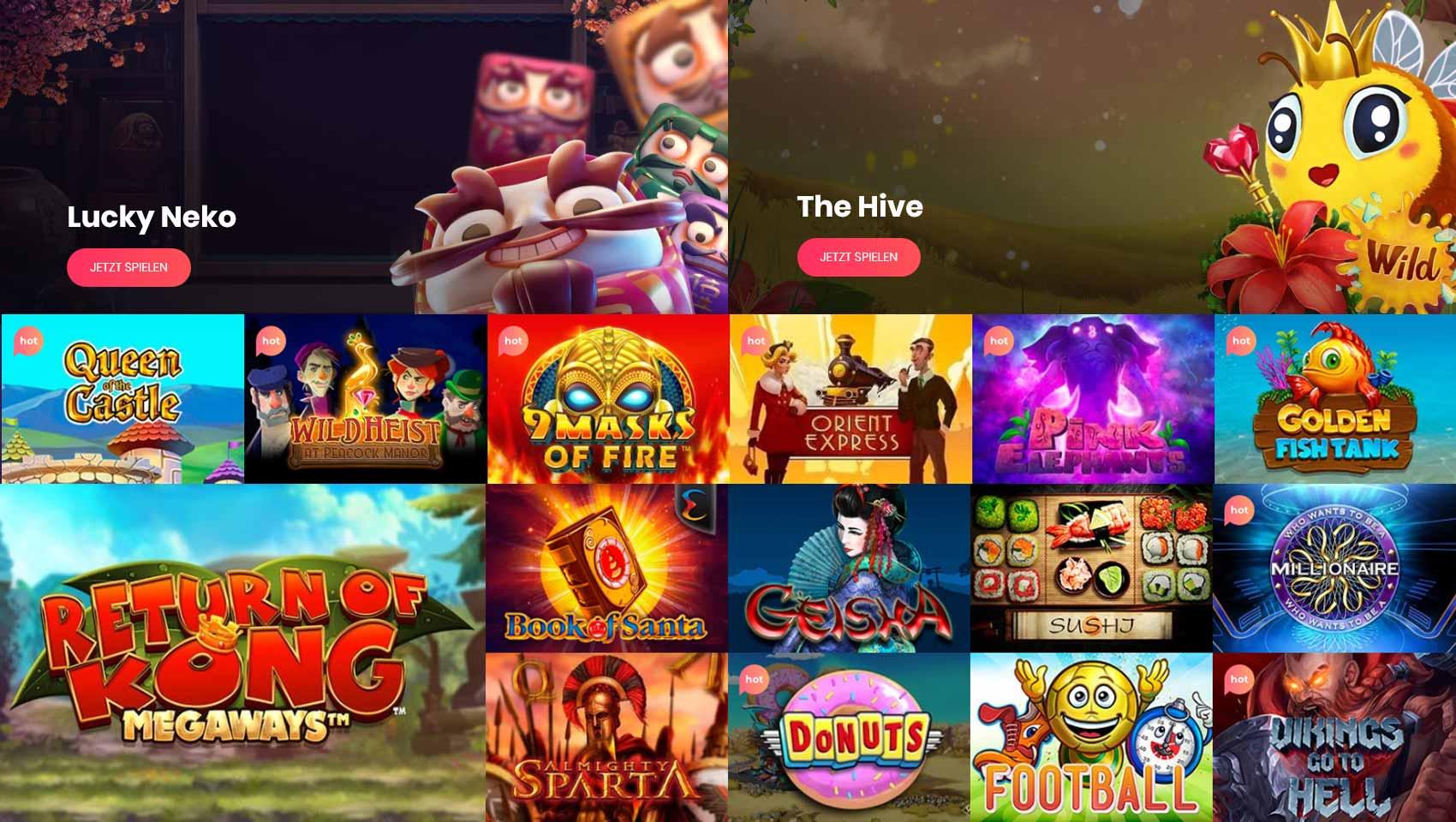 Casino en riktig spelautomaten