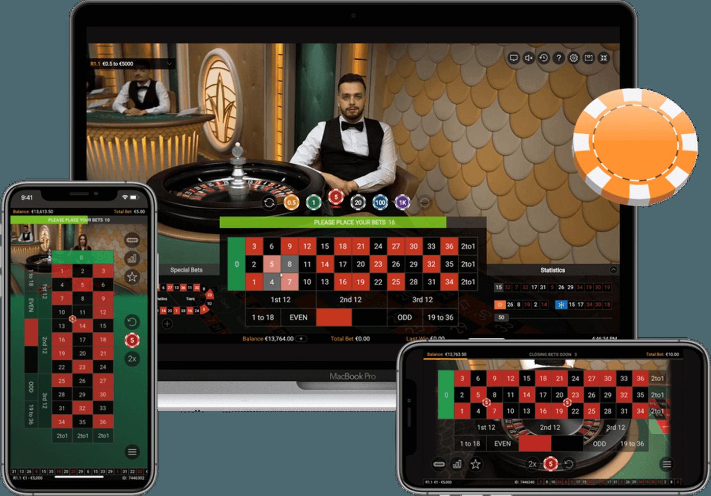 Amerikansk roulette online vinstkarta