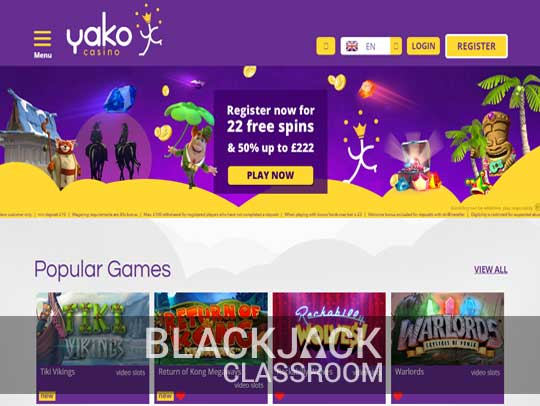 Perfekt Blackjack Yako casino 73671