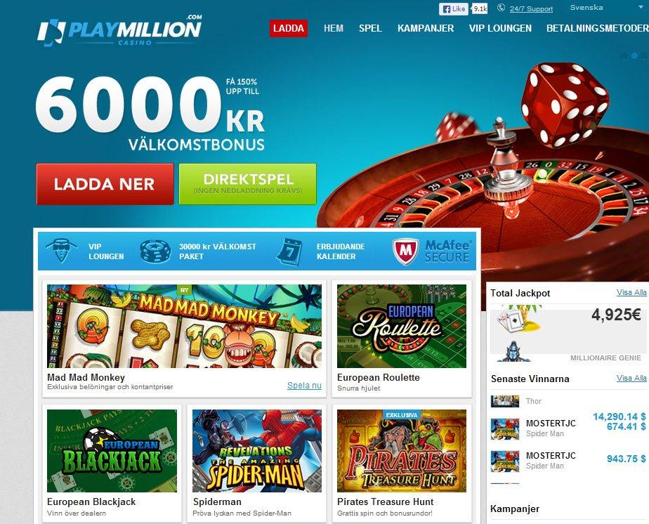 Nätcasino bankid free 33085