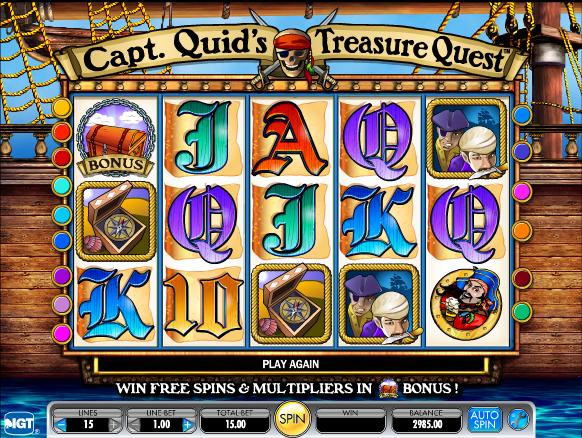 Video Captain Treasure 15033