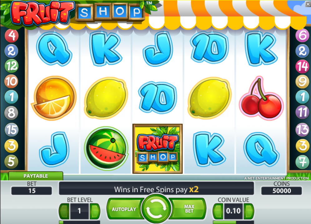 Free spins Fruits review