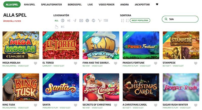 Världens bästa casino swish listan