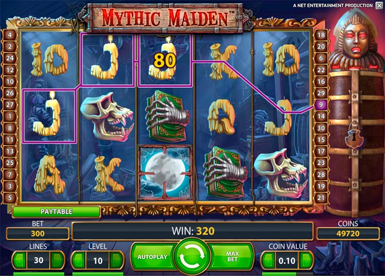 Mythic Maiden slot Turnering review
