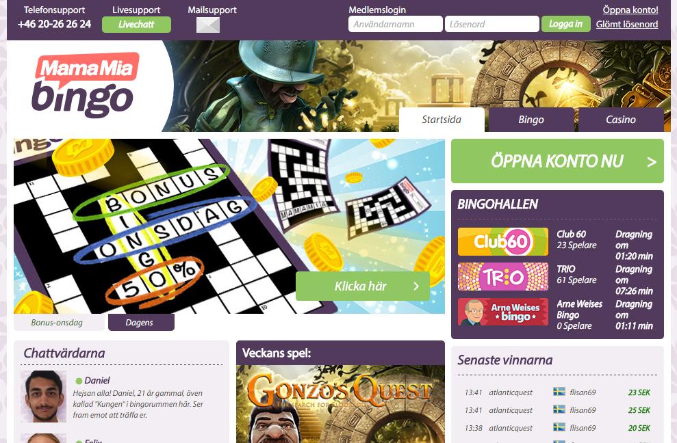 Svenska casino BankID Mr 76353