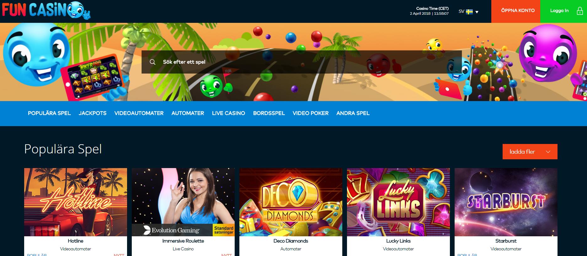 Casino utan 63222
