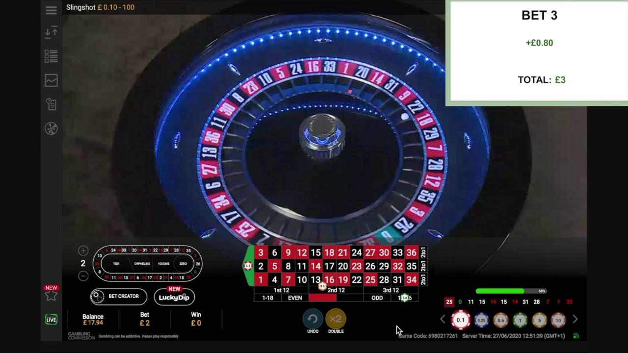 Test av roulette 73194