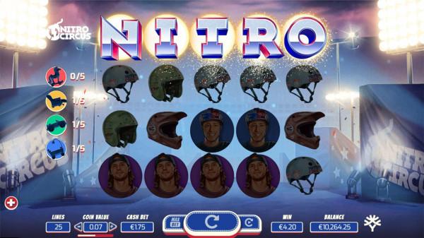 Casino utanför eu Nitro stud