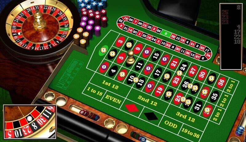 Roulette system svart rött spelat