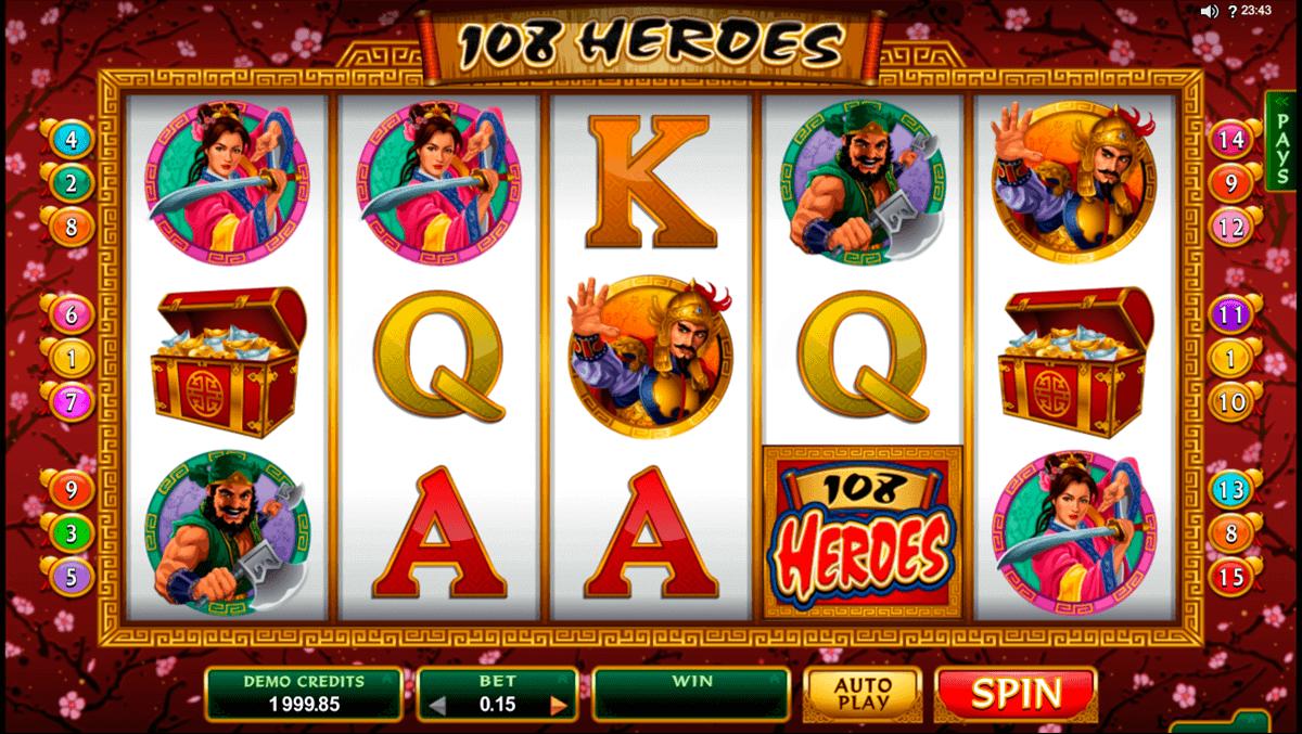 Casino heroes slots turnering högsta