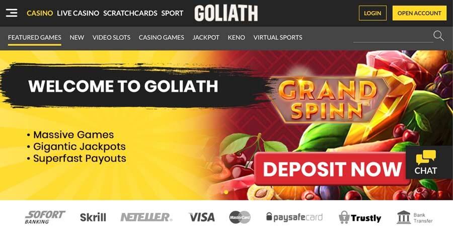 Casino snabbt bonusar Goliath 74974