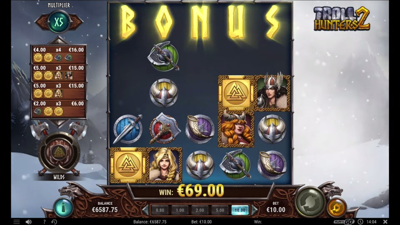 Video Troll Hunters slot 61582