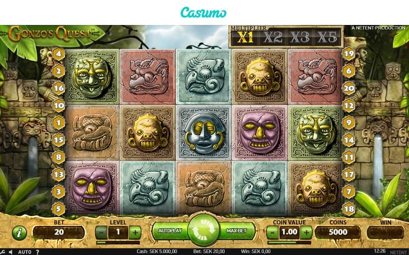 Enarmad bandit casinospel prisdragning