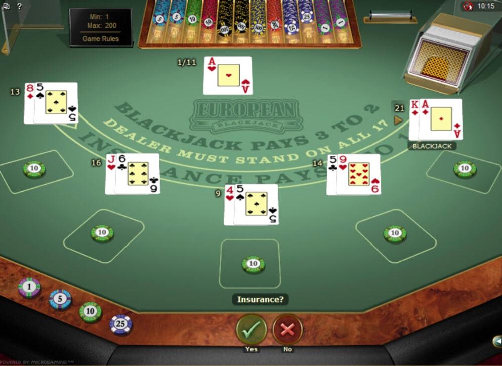 Dubbla Blackjack 56591