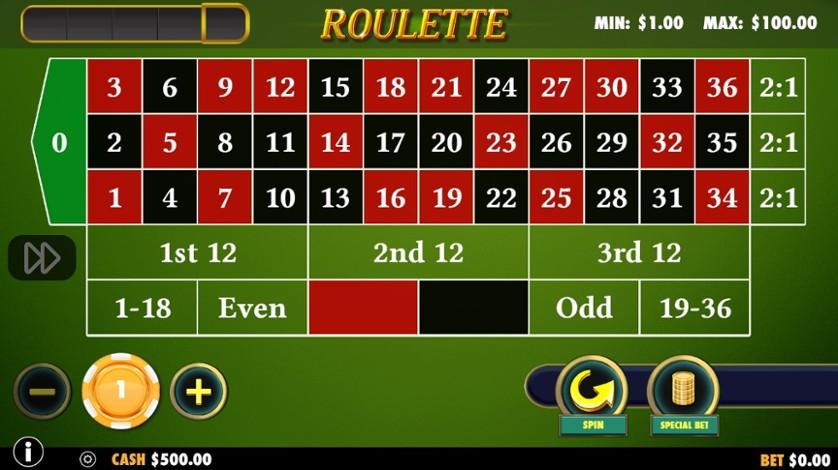 Gratis roulette Pronto 36607