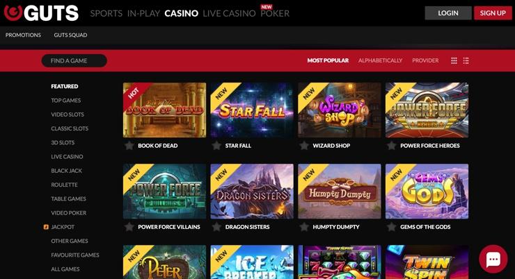 Lista casino bonusar 12874