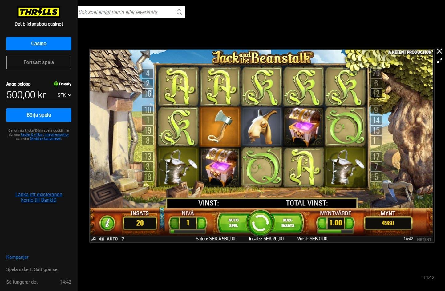 Spela casino iPad Turbico progressiv