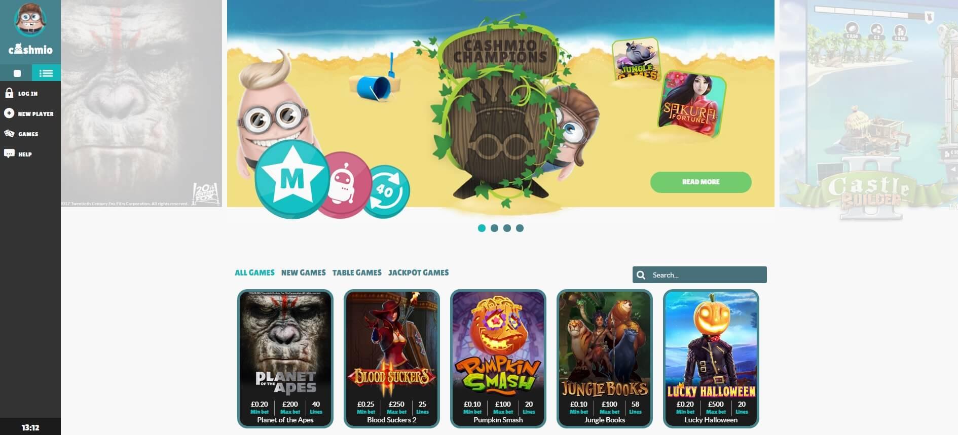 Mobile Wild Games öppna
