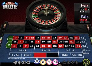 Roulette grön casino spel 45881