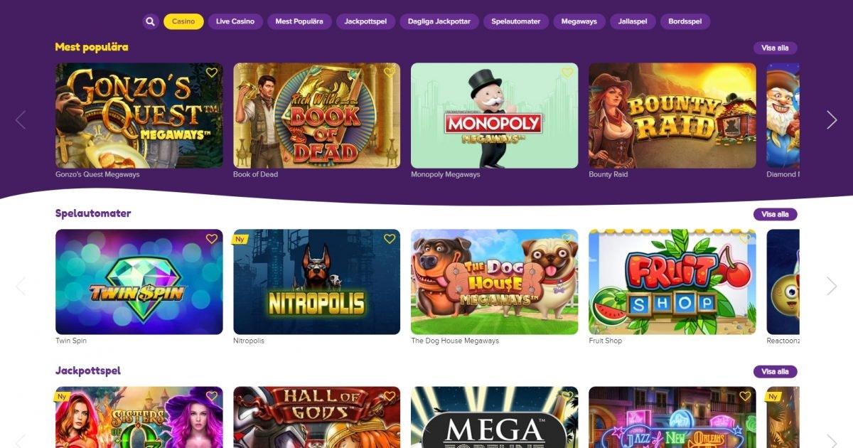 Snabbare casino recension prime