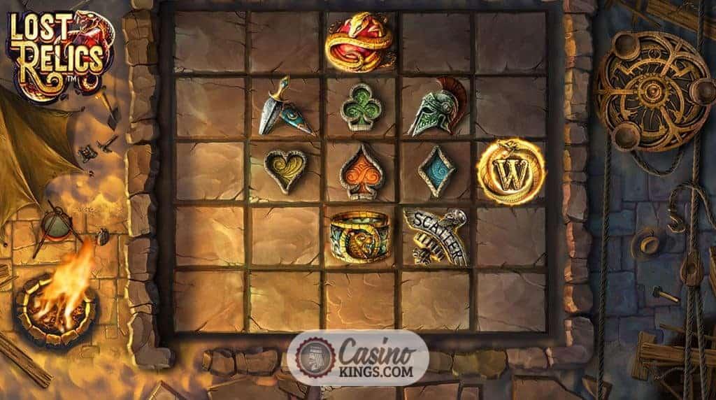 Spel hemma Lost Relics ilmaiskierrosta