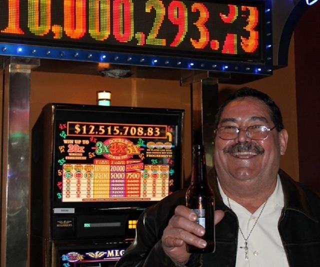 Vegas casino vinner X 78692