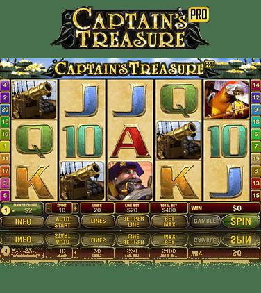 Video Captain Treasure 25932