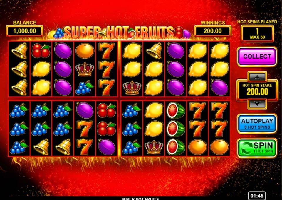 Video Super Fruit Slot biljetter