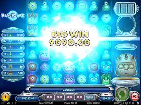 Winner ritprogram Reactoonz casino catwoman